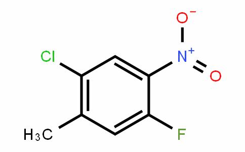 2-chloro-5-fluoro-4-nitrotoluene