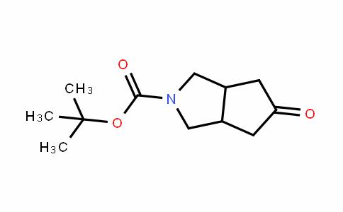 5-Oxohexahydrocyclopenta[c]pyrrole-2-carboxylic acid tert-butyl ester