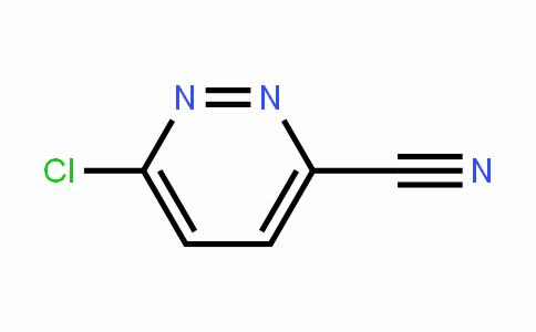 6-Chloro-3-pyridazinecarbonitrile