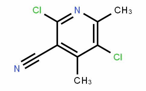 2,5-Dichloro-4,6-dimethylpyridine-3-carbonitrile