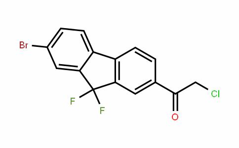 1-(7-broMo-9,9-difluoro-9H-fluoren-2-yl)-2-chloro-Ethanone
