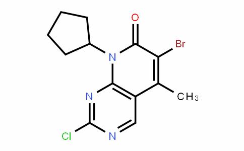 6-bromo-2-chloro-8-cyclopentyl-5-methylpyrido[2,3-d]pyrimidin-7(8H)-one