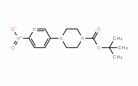 tert-butyl 4-(6-nitropyridin-3-yl)piperazine-1-carboxylate