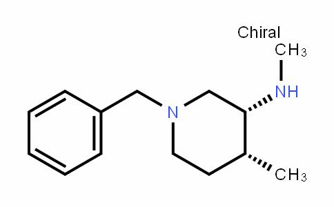 (3R,4R)-1-benzyl-N,4-dimethylpiperidin-3-amine