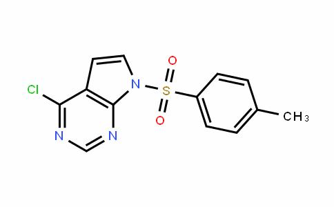 7H-Pyrrolo[2,3-d]pyrimidine, 4-chloro-7-[(4-methylphenyl)sulfonyl]-