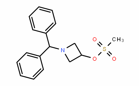 1-Benzhydryl-3-methanesulfonyloxy azetidine