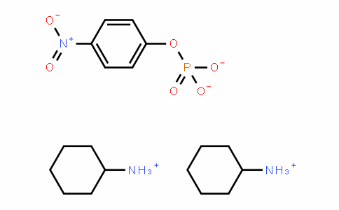 4-Nitrophenyl phosphate bis(cyclohexylammonium) salt