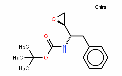 Carbamic acid, N-​[(1S)​-​1-​(2R)​-​2-​oxiranyl-​2-​phenylethyl]​-​, 1,​1-​dimethylethyl ester