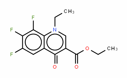1-Ethyl-6,7,8-trifluoro-1,4-dihydro -4-oxohydroquinoline-3-carboxylic acid ethyl ester