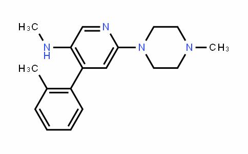 N-methyl-6-(4-methylpiperazin-1-yl)-4-(o-tolyl)pyridin-3-amine