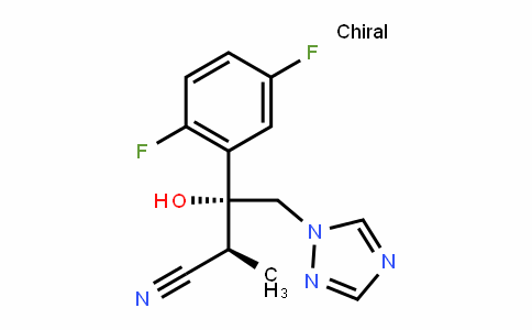 (2s,3r)-3-(2,5-difluorophenyl)-3-hydroxy-2-methyl-4-(1h-1,2,4-triazol-1-yl)butanenitrile