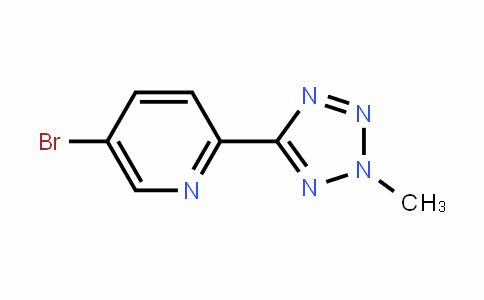 5-broMo-2-(2-Methyl-2H-tetrazol-5-yl)pyridine