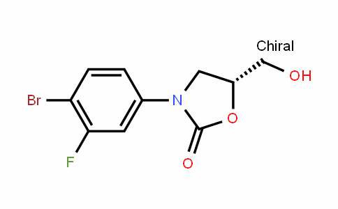 (R)-3-(4-BroMo-3-fluorophenyl)-5-(hydroxyMethyl)oxazolidin-2-one