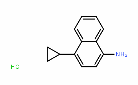 4-cyclopropylnaphthalene –1-amine hydrochloride