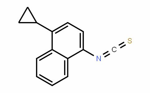 1-Cyclopropyl-4-isothiocyanatonaphthalene