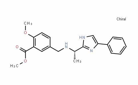 (S)-methyl2-methoxy-5-((1-(4-phenyl-1H-imidazol-2-yl)ethylamino)methyl)benzoate