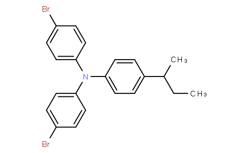 4,4'-二溴-4''-仲丁基三苯胺
