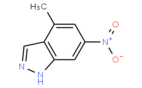 4-Methyl-6-nitroindazle
