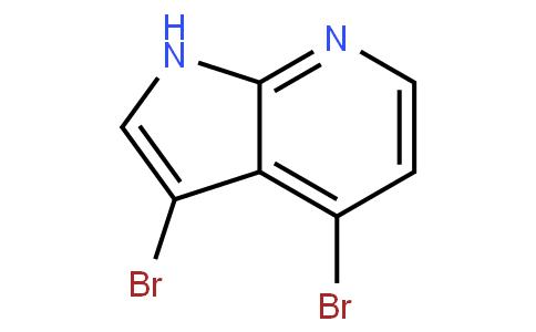 3,4-二溴-7-氮杂吲哚