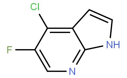 4-Chloro-5-fluoro-1H-pyrrolo[2,3-b]pyridine