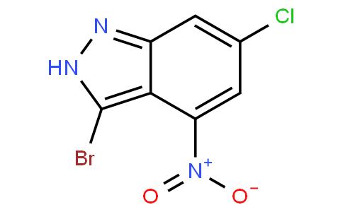 3-bromo-6-chloro-4-nitro-2H-indazole