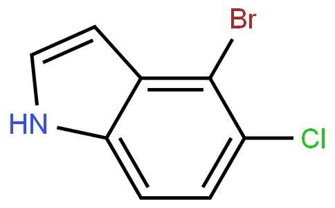 4-bromo-5-chloro indole