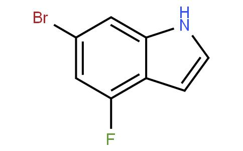 6-Bromo-4-fluoro indole
