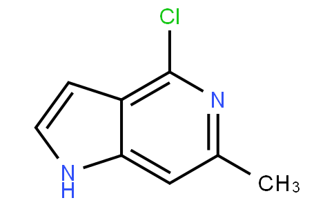 4-Chloro-6-methyl-5-azaindole