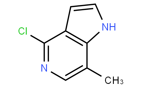 4-chloro-7-methyl-1H-pyrrolo[3,2-c]pyridine
