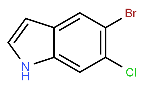 5-Bromo-6-chloro-1H-indole
