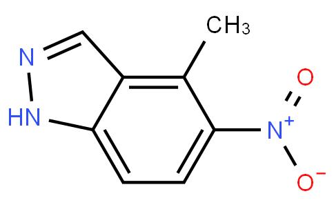 4-Methyl-5-nitro-1H-indazole