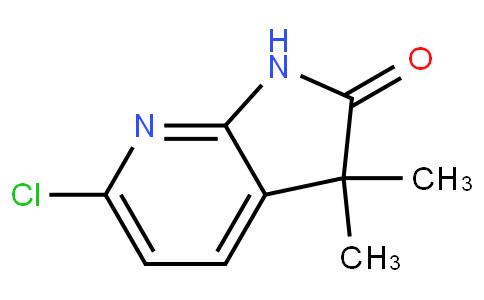 6-chloro-3,3-dimethyl-1H-pyrrolo[2,3-b]pyridin-2-one
