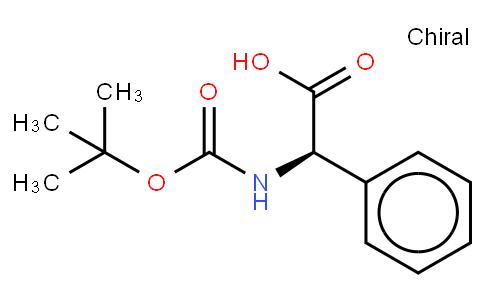 N-(叔丁氧羰基)-D-2-苯甘氨酸