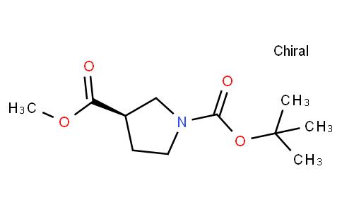 (R)-1-Boc-pyrrolidine-3-carboxylic acid methyl ester