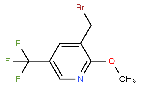 3-(bromomethyl)-2-methoxy-5-(trifluoromethyl)pyridine