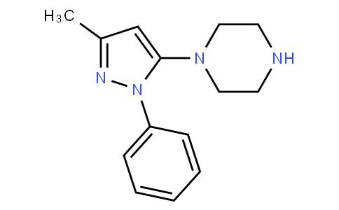 1-(3-Methyl-1-phenyl-5-pyrazolyl)piperazine