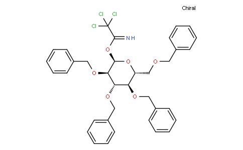 2,3,4,6-Tetra-O-benzyl-α-D-glucopyranosyl trichloroacetimidate