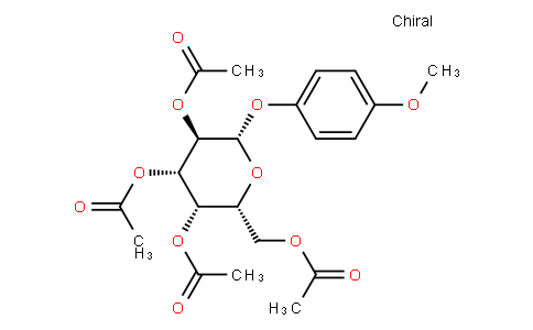 4-Methoxyphenyl 2,3,4,6-Tetra-O-acetyl-β-D-galactopyranoside