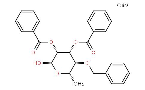 2,3-di-O-benzoyl-4-O-benzyl-α-l-rhamnopyranose