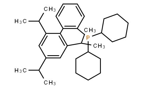 2-(Dicyclohexylphosphino)-2',4',6'-tri-i-propyl-1,1'-biphenyl