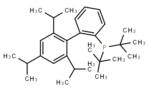 2-Di-t-butylphosphino-2',4',6'-tri-i-propyl-1,1'-biphenyl