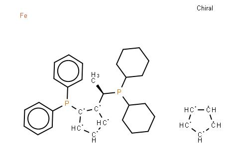 (R)-(-)-1-[(S)-2-Diphenylphosphino)ferrocenyl]ethyldicyclohexylphosphine