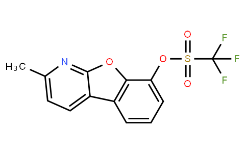 2-Methylbenzofuro[2,3-b]pyridin-8-yl trifluoromethanesulfonate