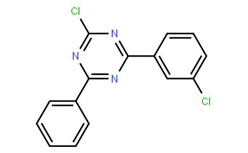 2-Chloro-4-(3-chloro-phenyl)-6-phenyl-[1,3,5]triazine