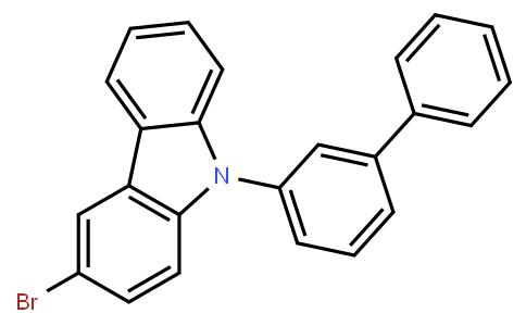 9-([1,1'-biphenyl]-3-yl)-3-broMo-9H-carbazole