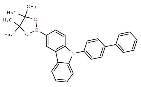 9H-Carbazole,9-[1,1'-biphenyl]-4-yl-3-(4,4,5,5-tetramethyl-1,3,2-dioxaborolan-2-yl)-