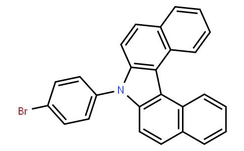 7-(4-bromophenyl)-7H-dibenzo[c,g]carbazole