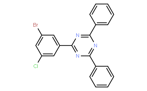 2-(3-broMo-5-chlorophenyl)-4,6-diphenyl-1,3,5-triazine