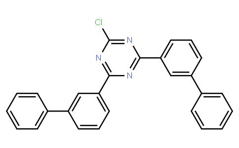 2,4-Di([1,1'-biphenyl]-3-yl)-6-chloro-1,3,5-triaz-ine