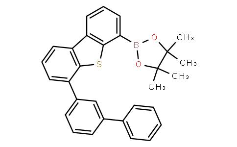 2-(6-([1,1'-biphenyl]-3-yl)dibenzo[b,d]thiophen-4-yl)-4,4,5,5-tetramethyl-1,3,2-dioxaborolane